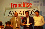 Zee Learn Wins Franchise Plus's 'Franchise of The Year Award 2010'